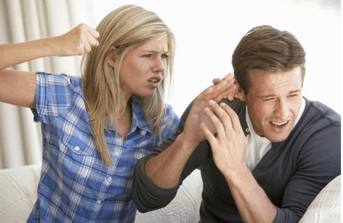 אלימות כלפי הבן זוג